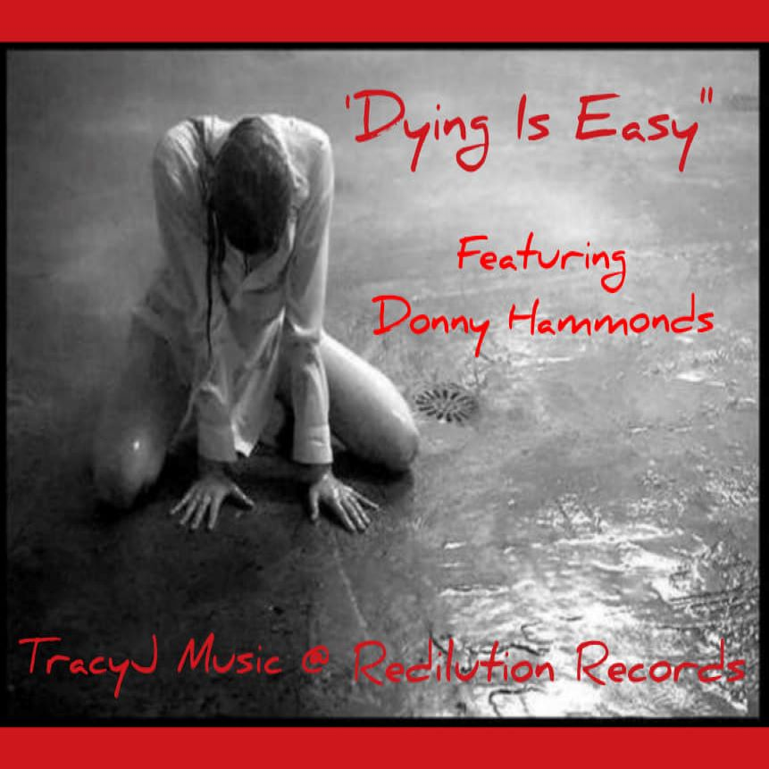 Art for Dying Is Easy by DONNY HAMMONDS