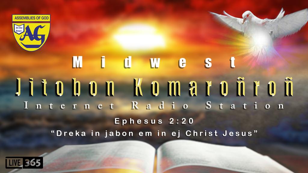 JITBON KOMARONRON AOG Radio Station logo