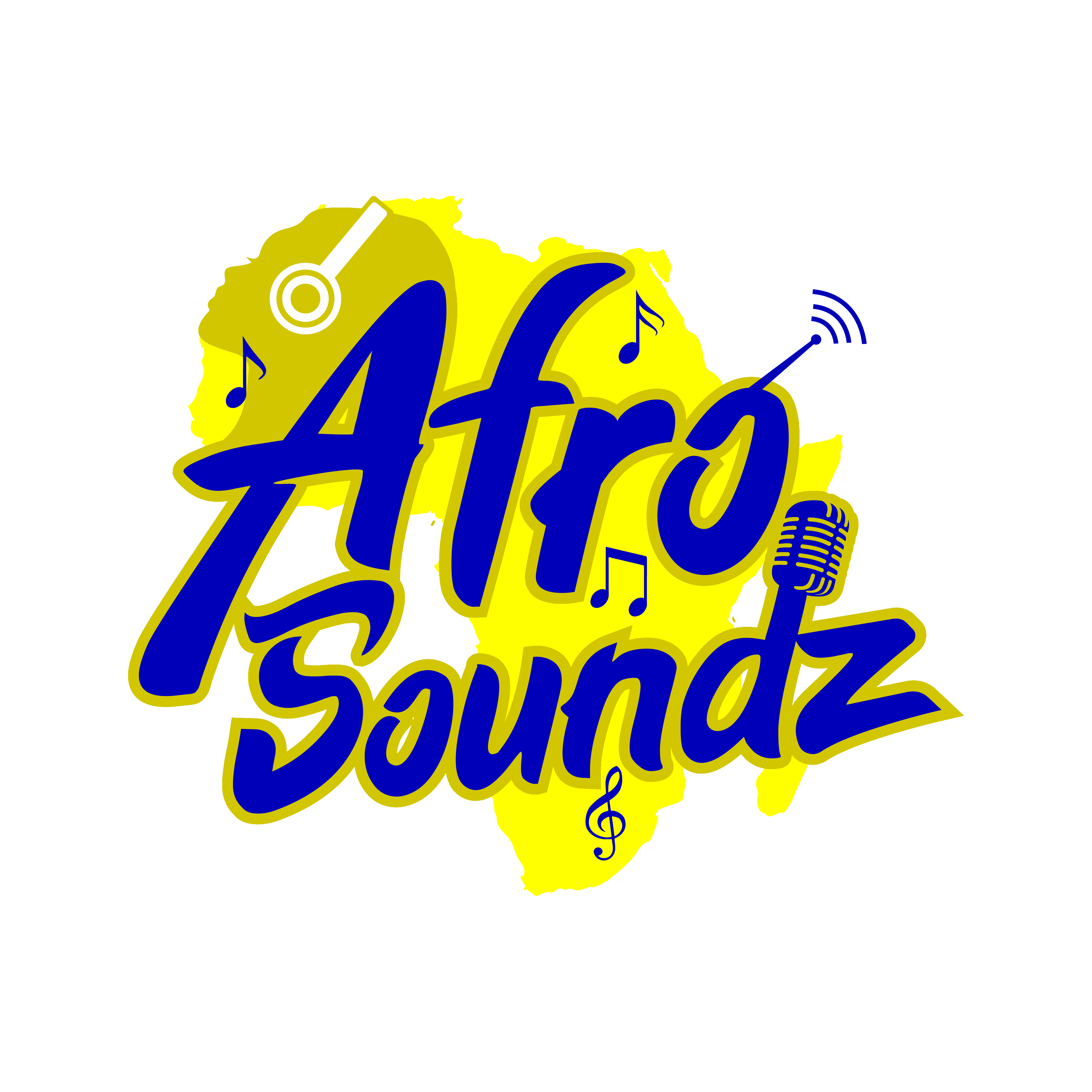 Afro Soundz - The beats that keep you on your feet! logo