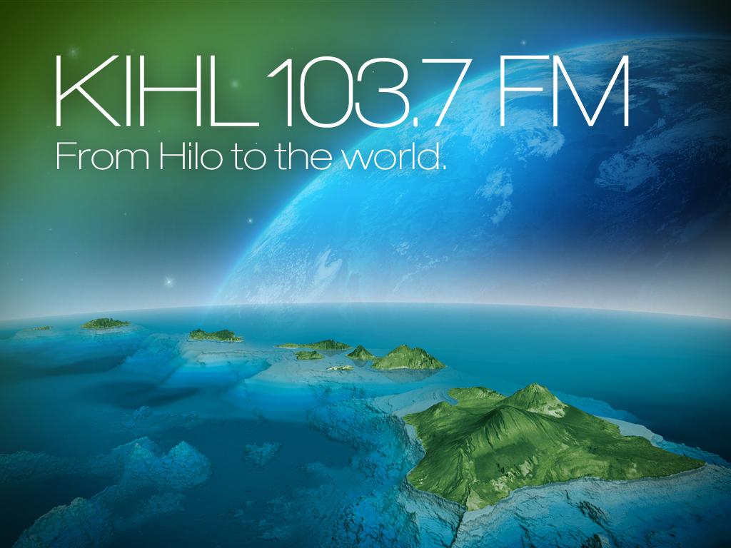 Aloha KIHL 103.7 FM logo