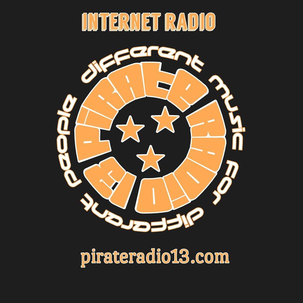Pirate Radio 13 logo