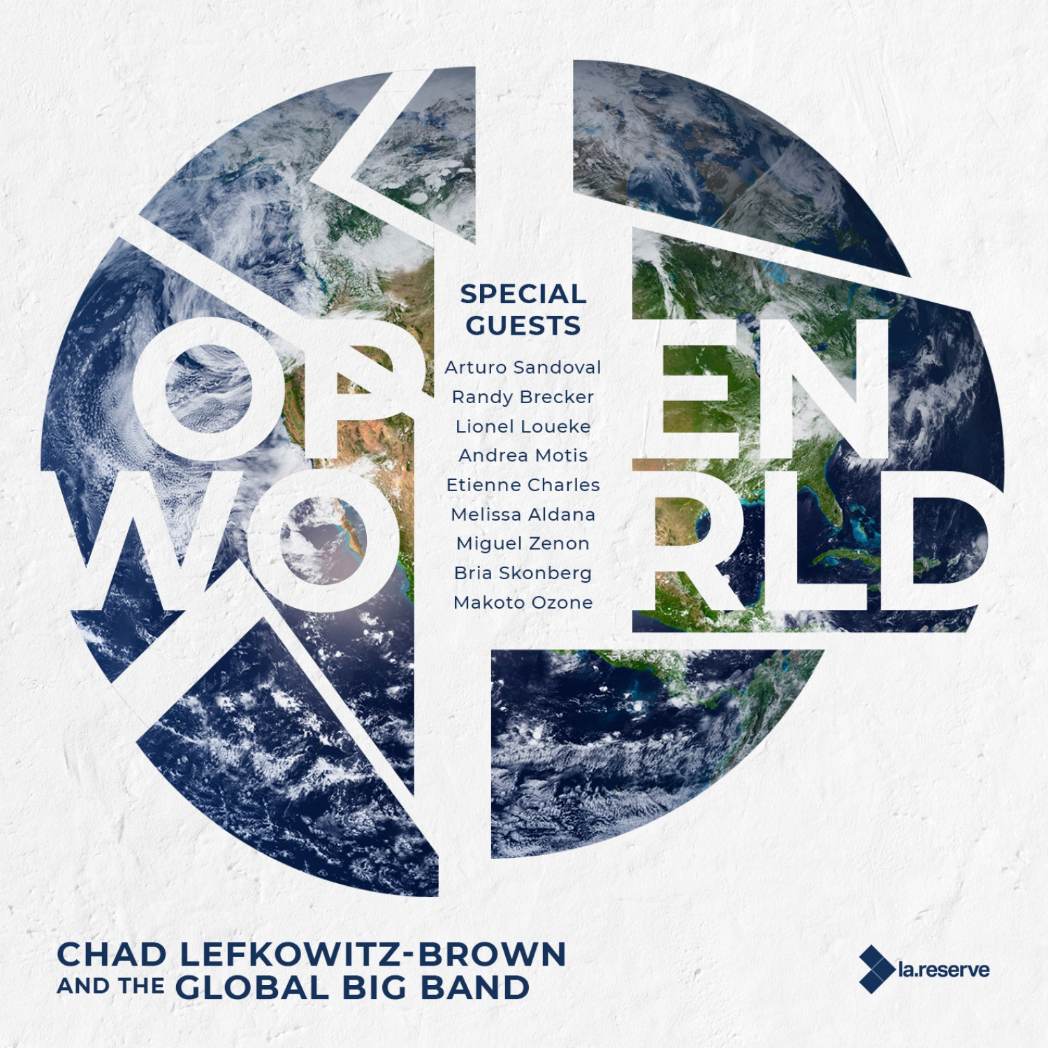 Art for United by Chad Lefkowitz-Brown and the Global Big Band
