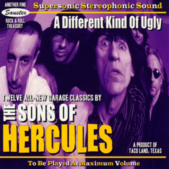 Art for A Different Kind of Ugly by The Sons of Hercules
