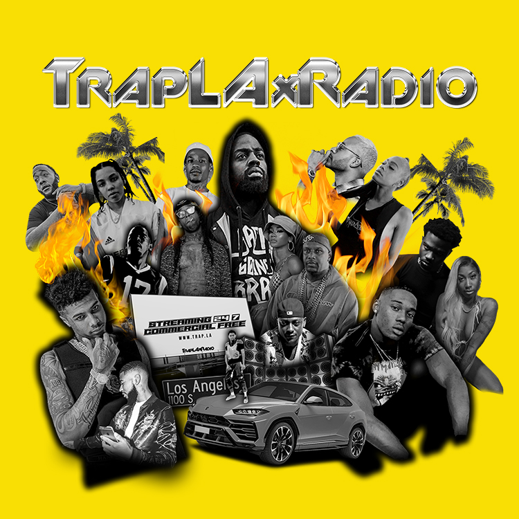 trapLAX Radio logo