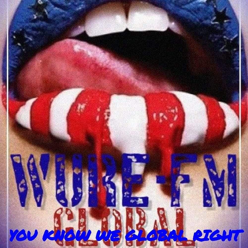 WURE-FM GLOBAL Underground HipHop & R&B Radio logo