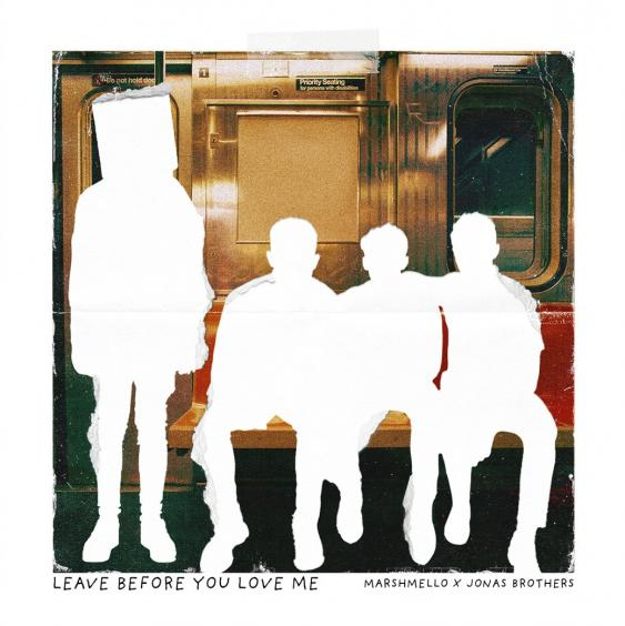 Art for Leave Before You Love Me by Marshmello feat Jonas Brothers