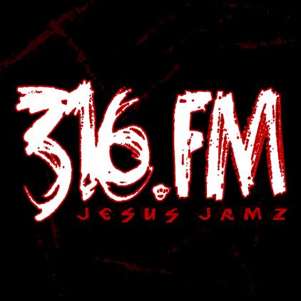 Christian Radio 316.FM Jesus Jamz logo