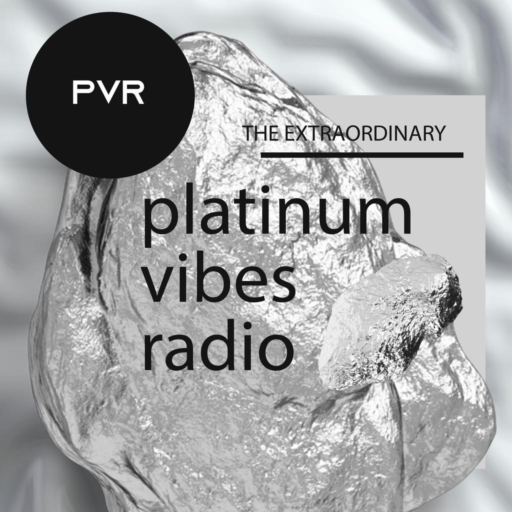 PLATINUM VIBES RADIO (The Extraordinary) logo