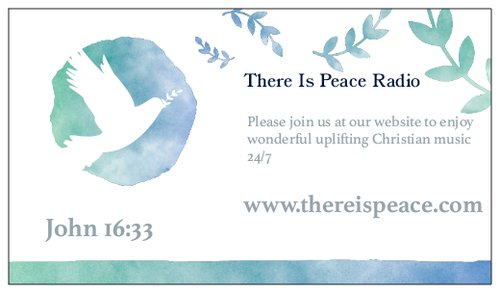 There Is Peace logo