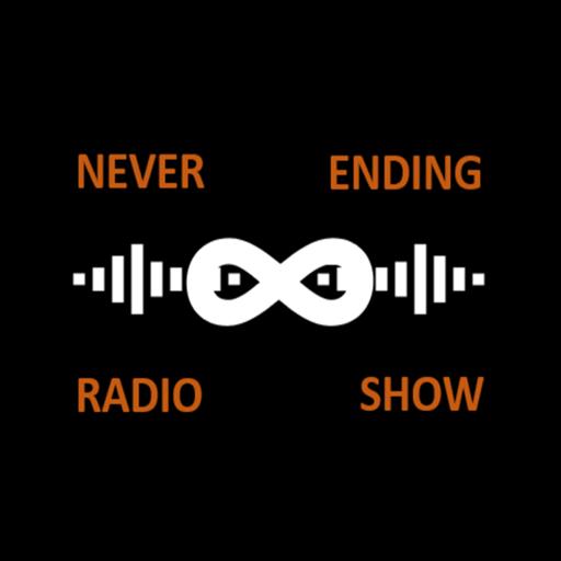 Never Ending Radio Show logo