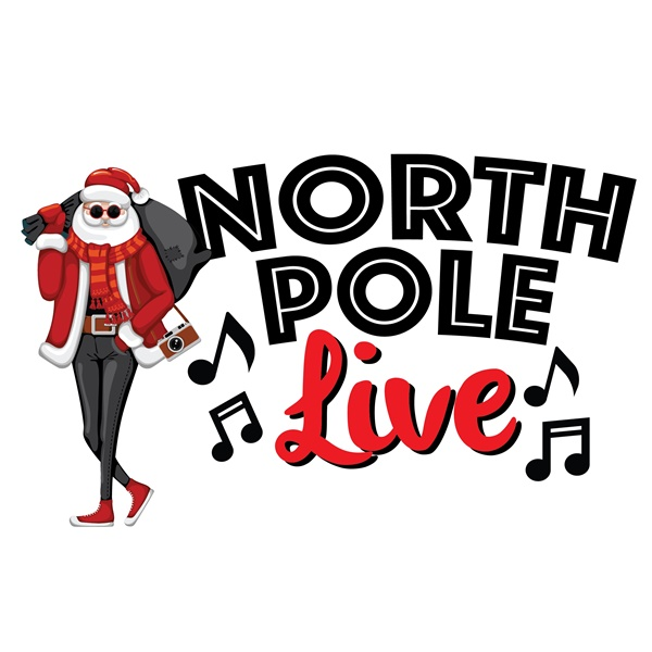 North Pole Live powered by Live365 logo