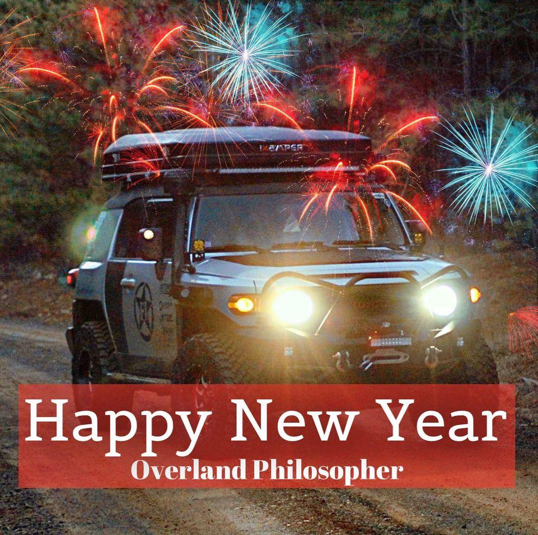 Art for New Year by The Overland Philosopher