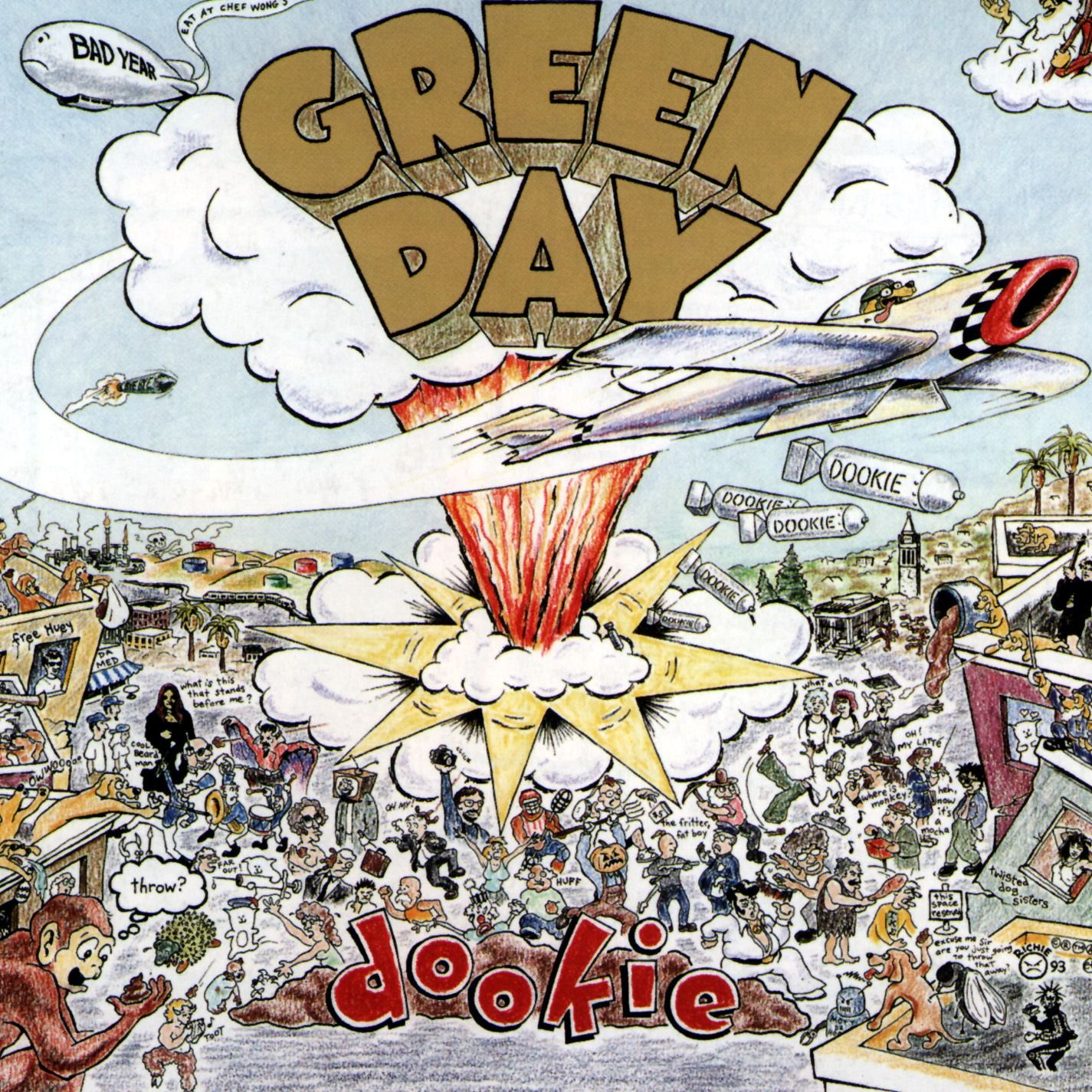 Art for Longview by Green Day