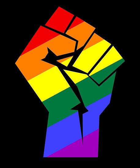 QueerFMPalmSprings logo