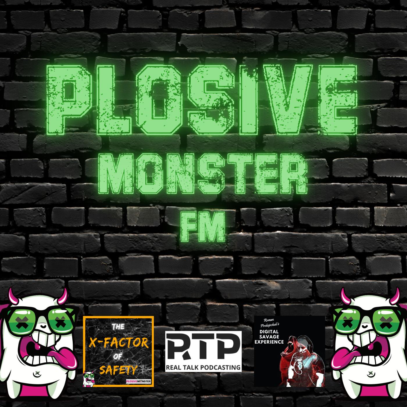 Plosive Monster FM logo