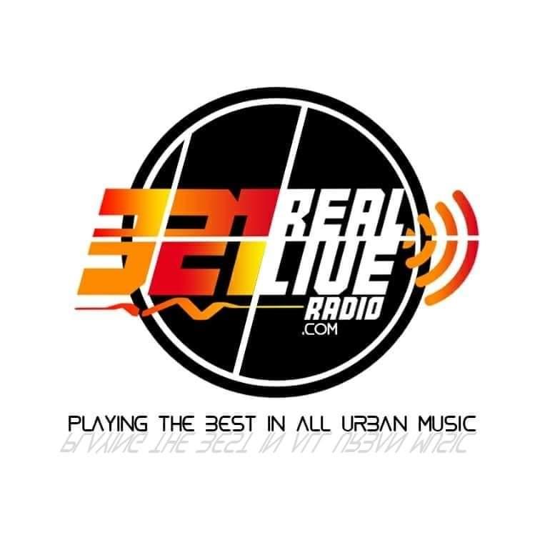 321RealLiveRadio logo