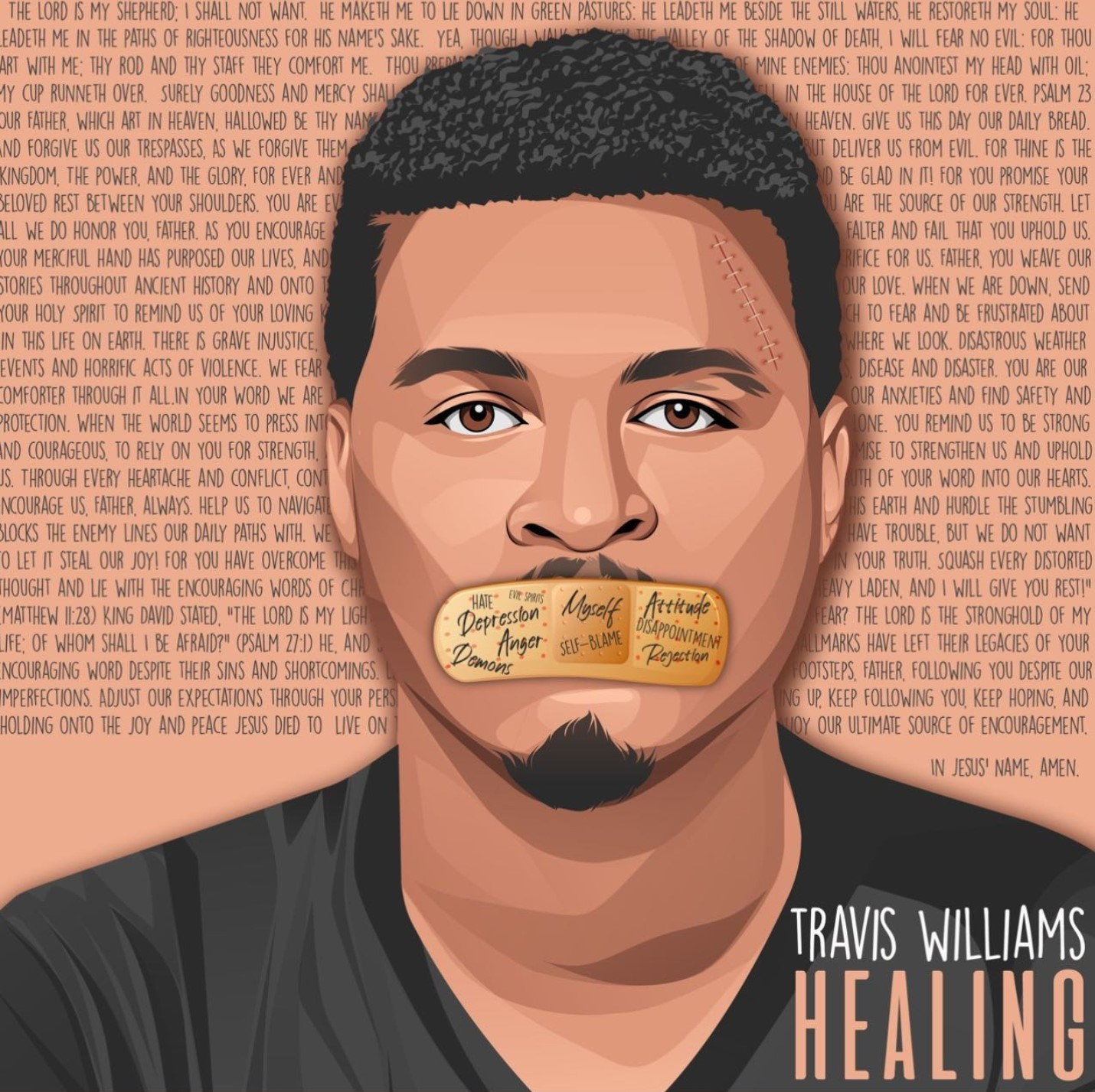 Art for HEALING  by Travis Williams