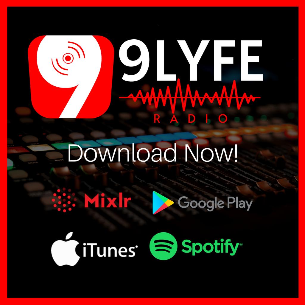 9LYFE RADIO  logo