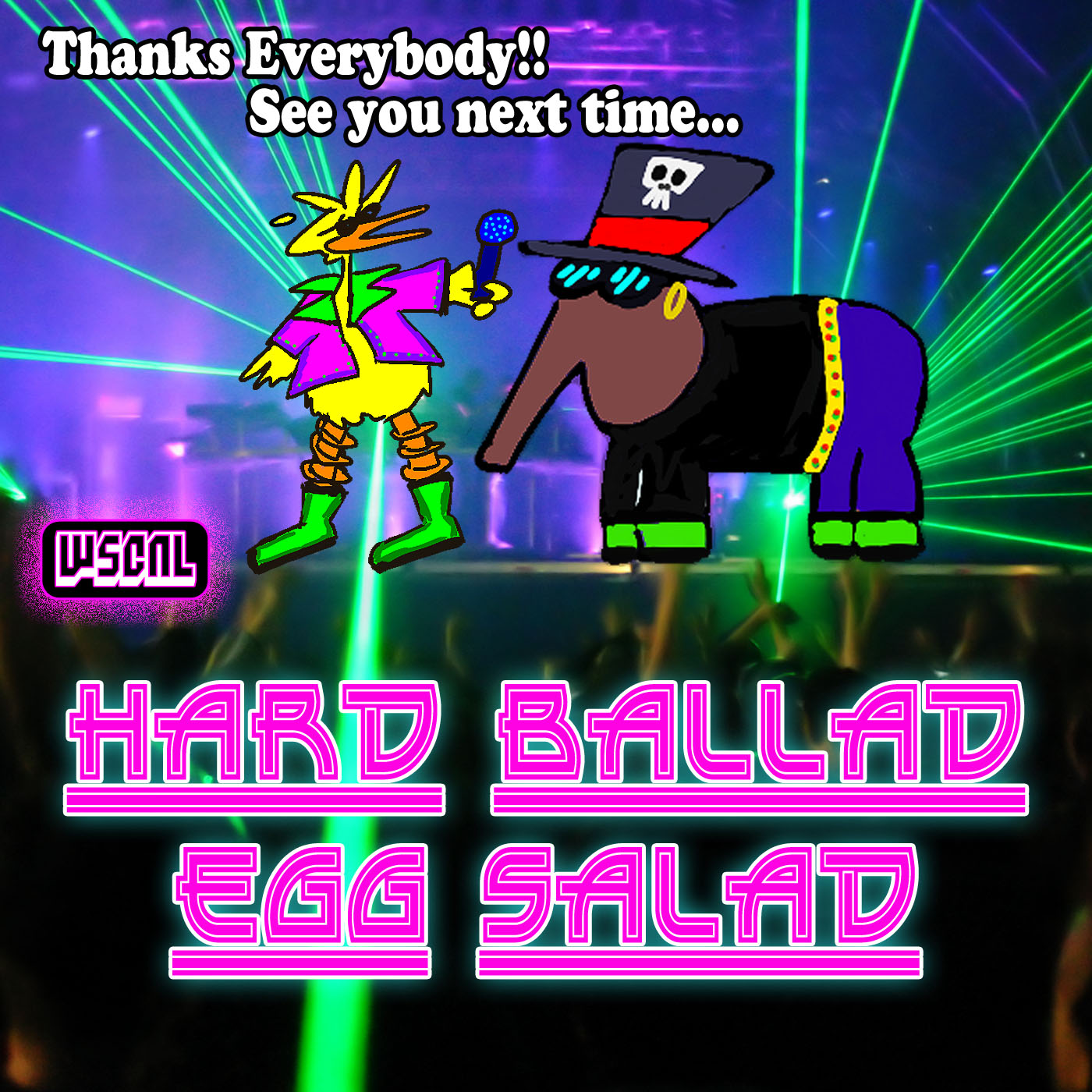 Art for We'll Remember YOU and EGGS! by Hard Ballad Egg Salad