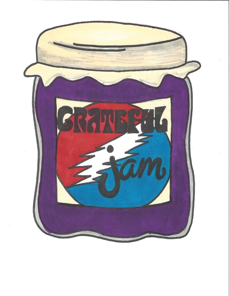 Grateful Jam logo