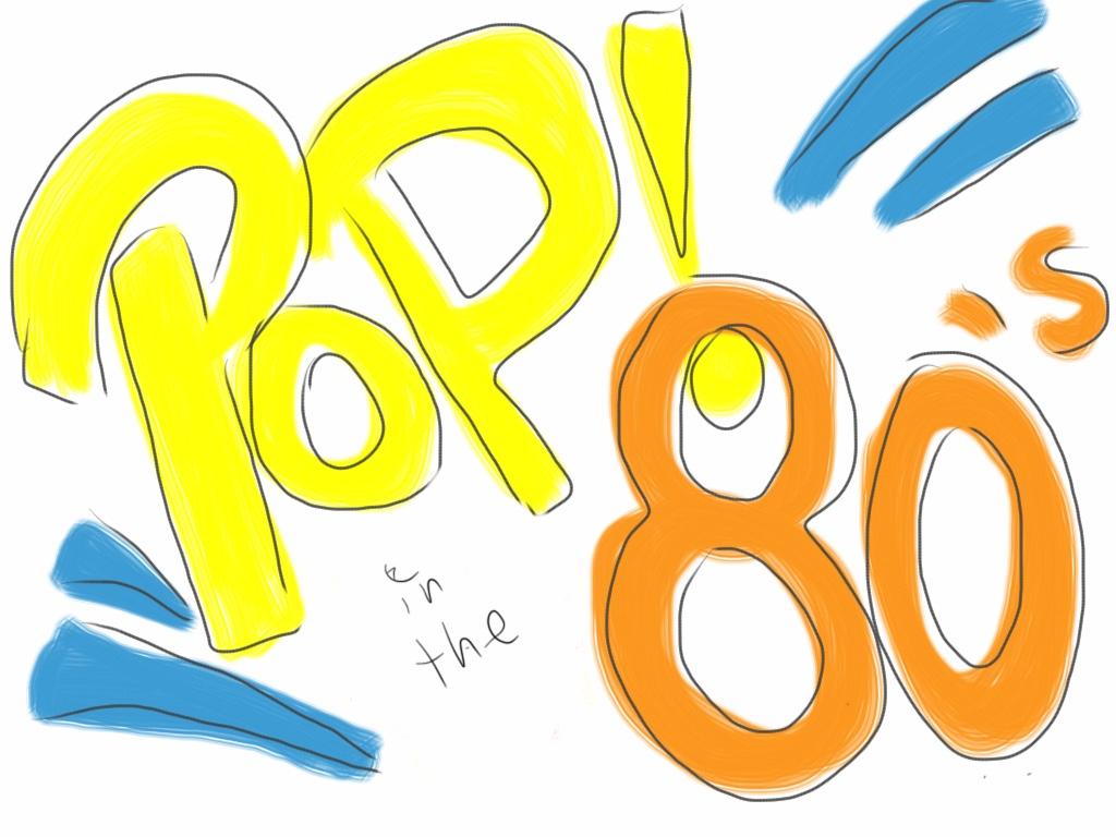 Pop In The 80s logo