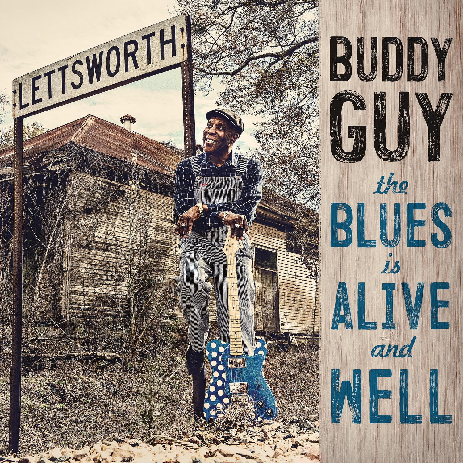 Art for The Blues Is Alive and Well by Buddy Guy