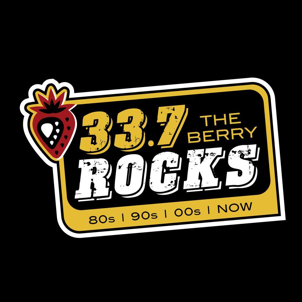 33.7 The Berry ROCKS  logo