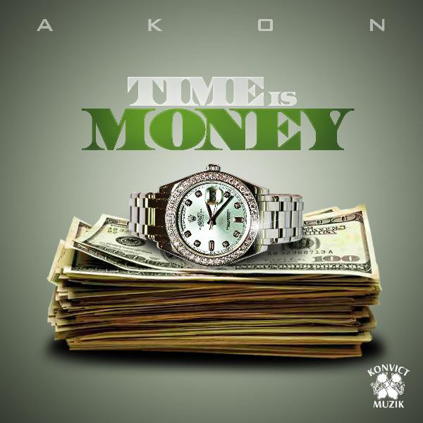 Art for Time Is Money (Clean) by Akon