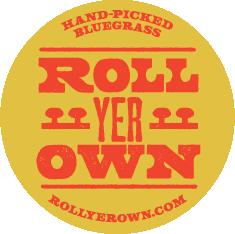 ROLLyerOWN    |    Hand-Picked Bluegrass logo