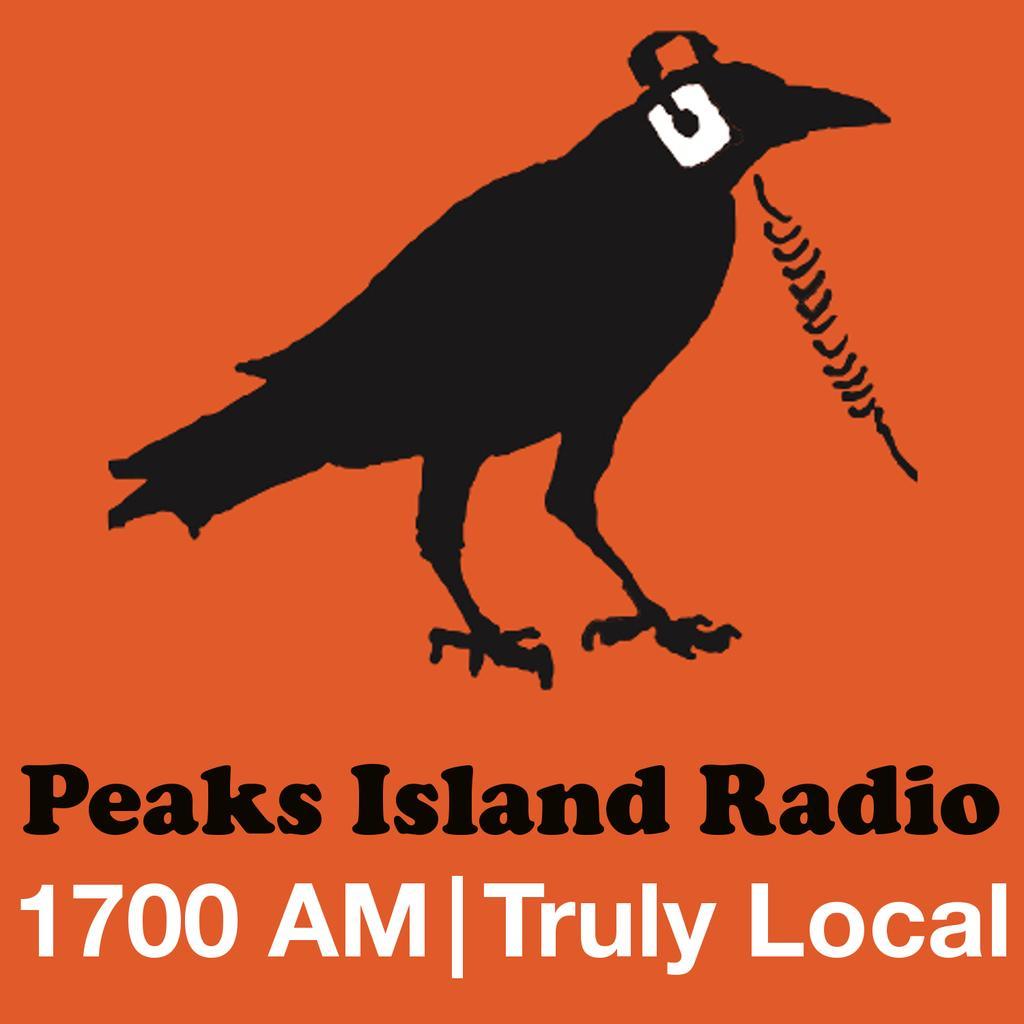 Peaks Island Radio logo