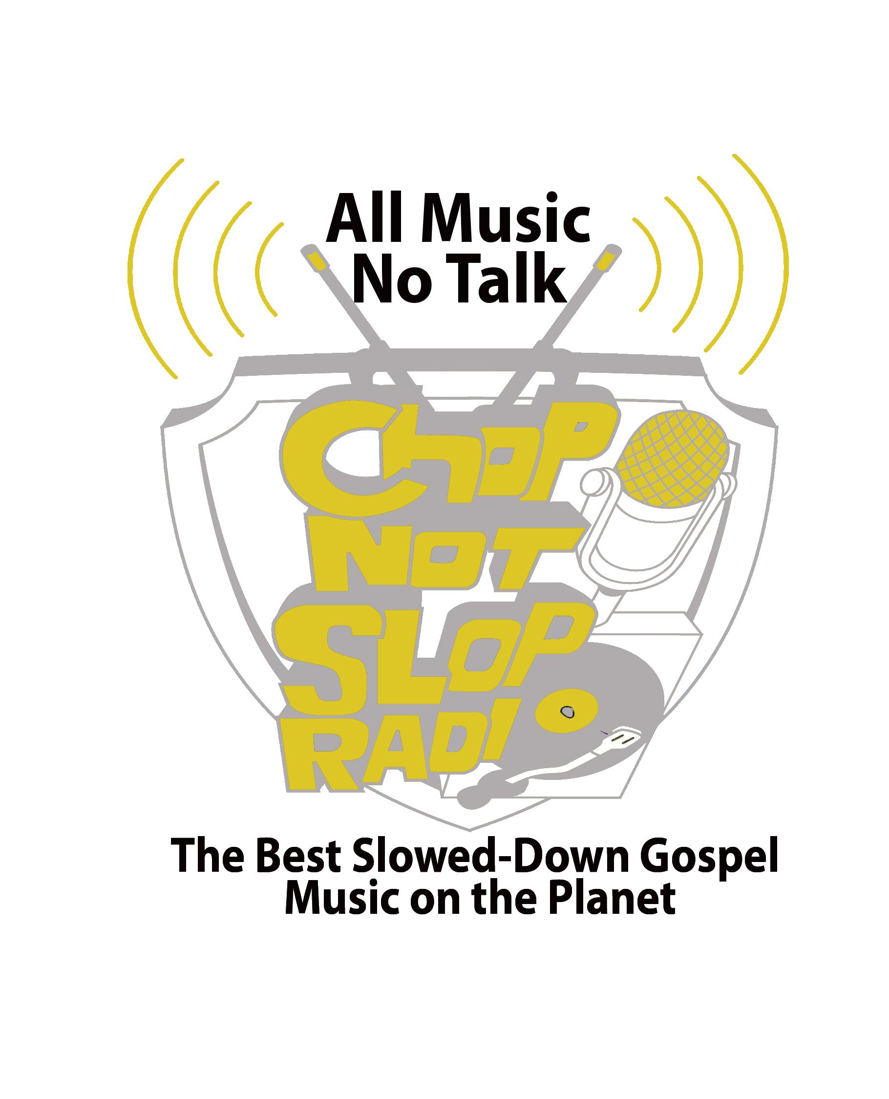 ChopNotSlop Gospel logo