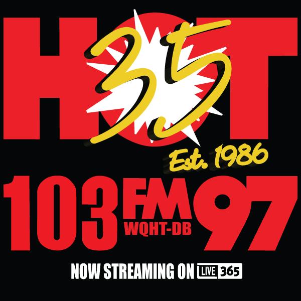 HOT 103/97 Tribute Station | WQHT-DB logo