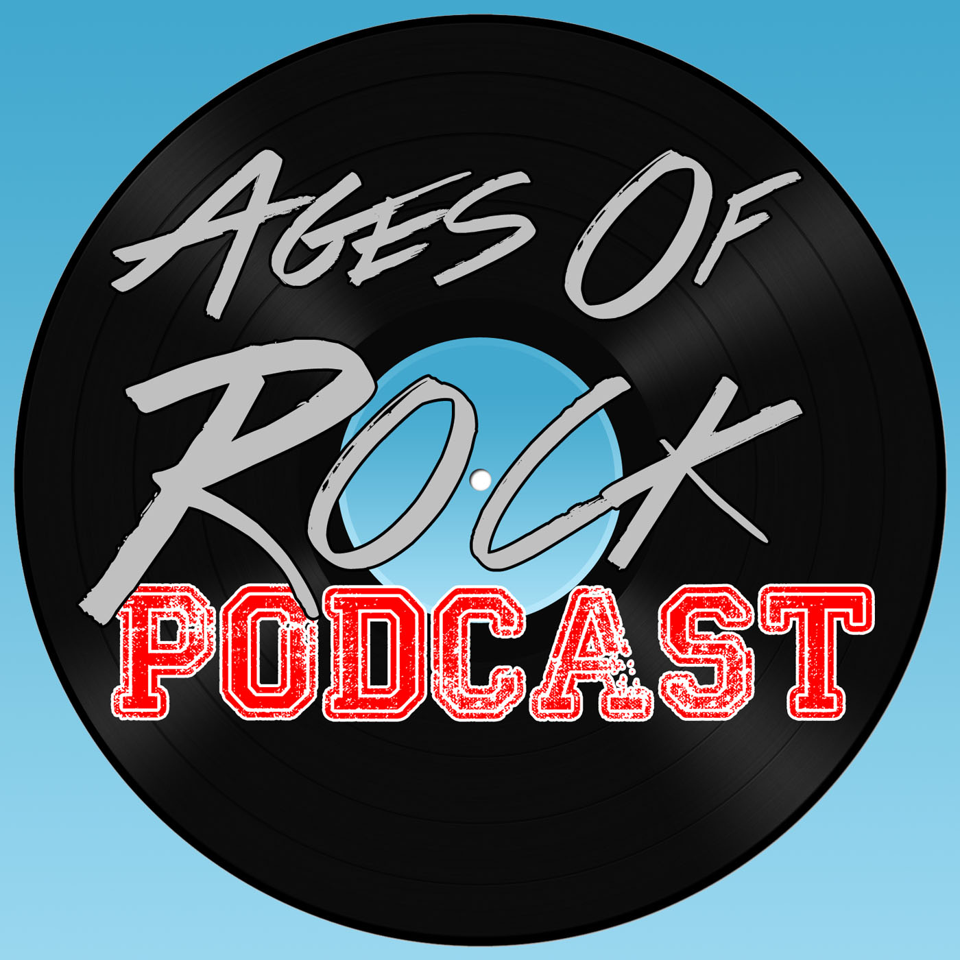 Art for Ages of Rock Podcast's Bill Algee for A2Z Radio by Bill Algee