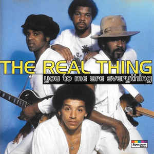 Art for You To Me Are Everything by The Real Thing