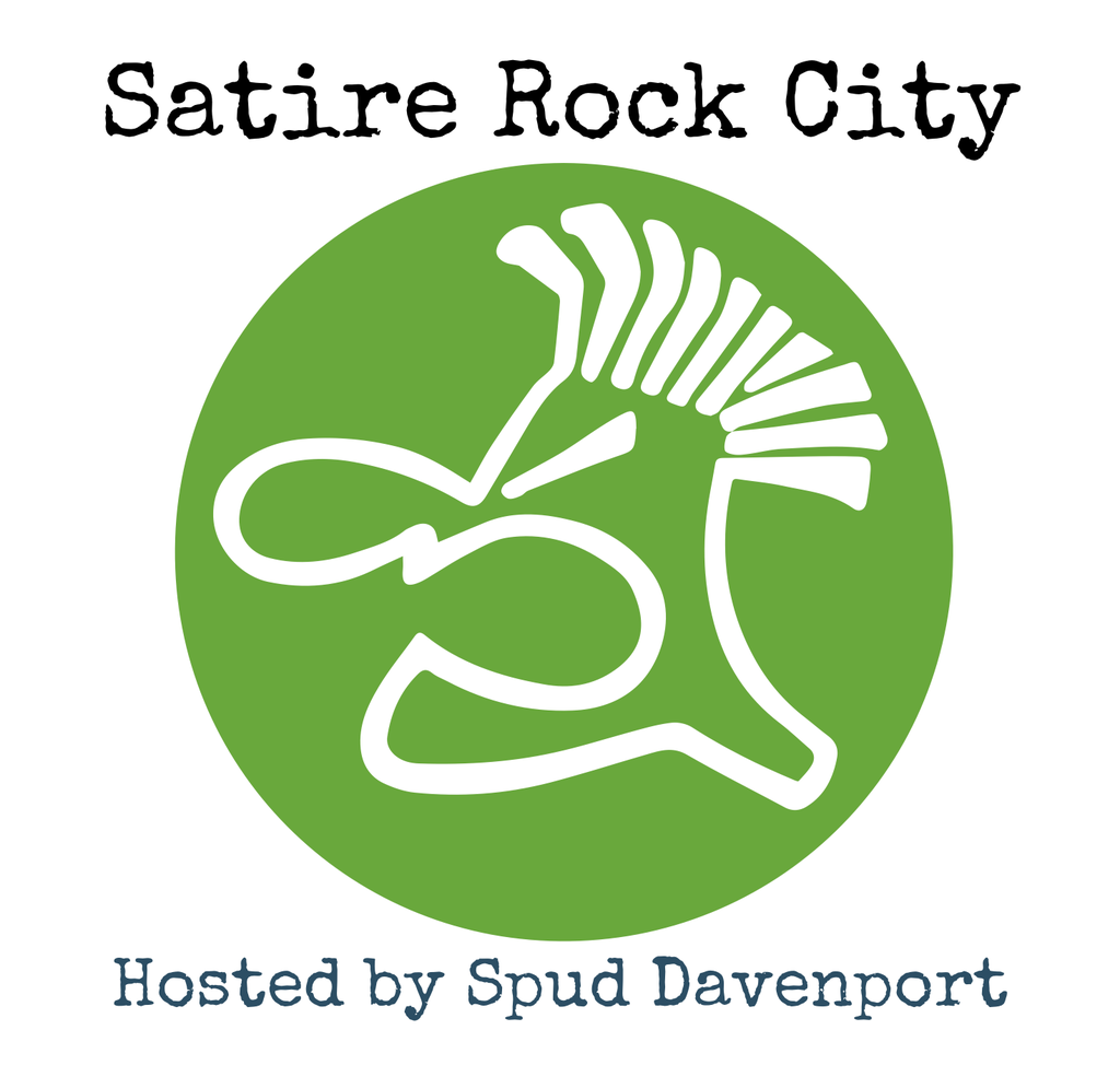 Satire Rock City Radio logo