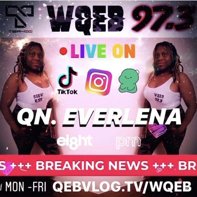 WQEB 97.3 logo