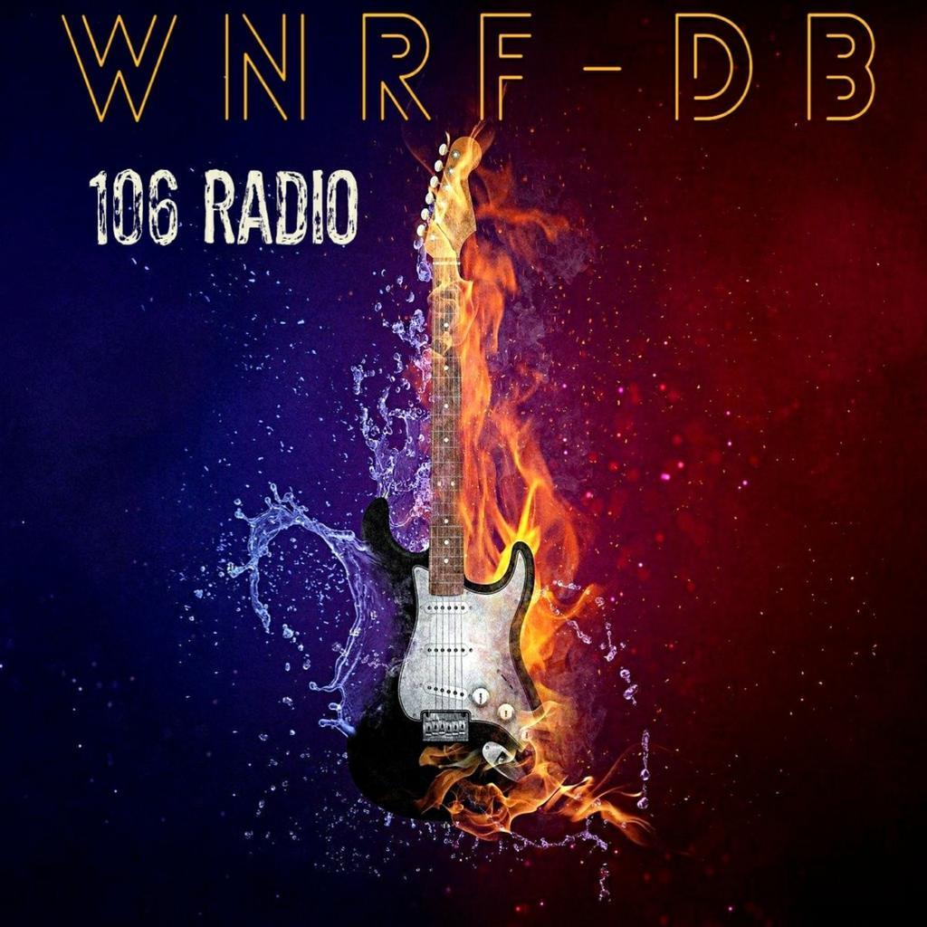 WNRF-DB 106 Rock Radio logo