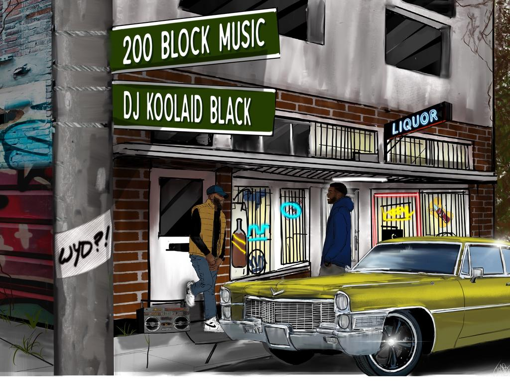 200 Block Music logo