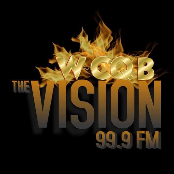 WCQB 99.9 FM The Vision  logo