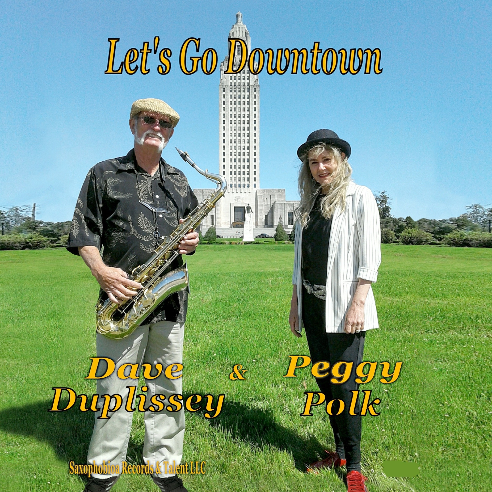 Art for Let's Go Downtown by Dave Duplissey & Peggy Polk