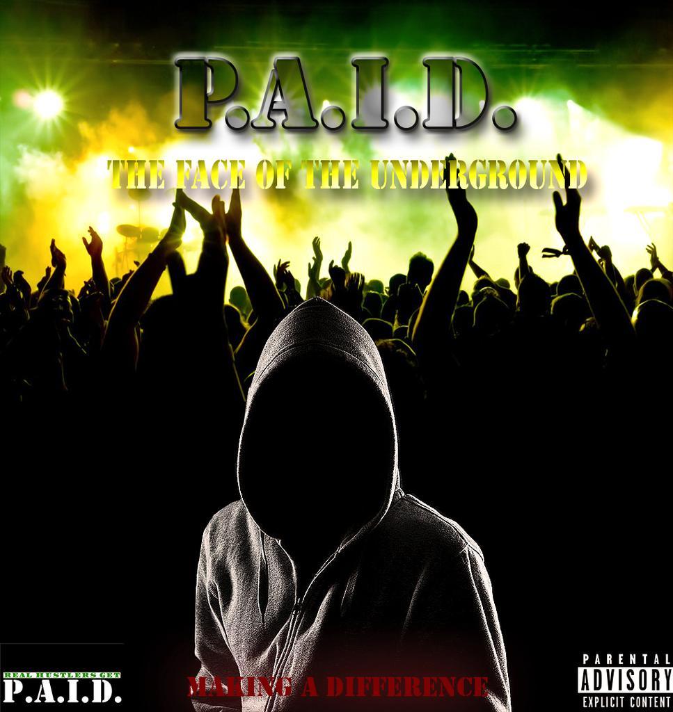 P.A.I.D. Radio logo