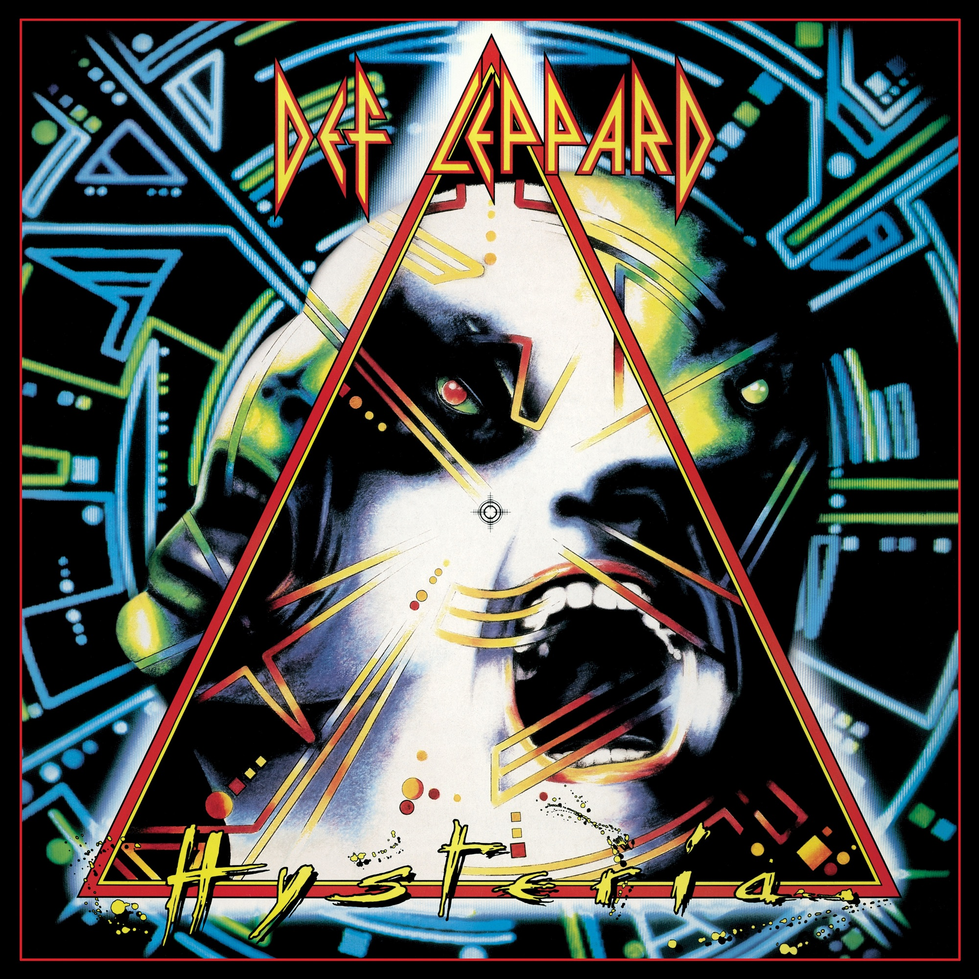 Art for Hysteria by Def Leppard