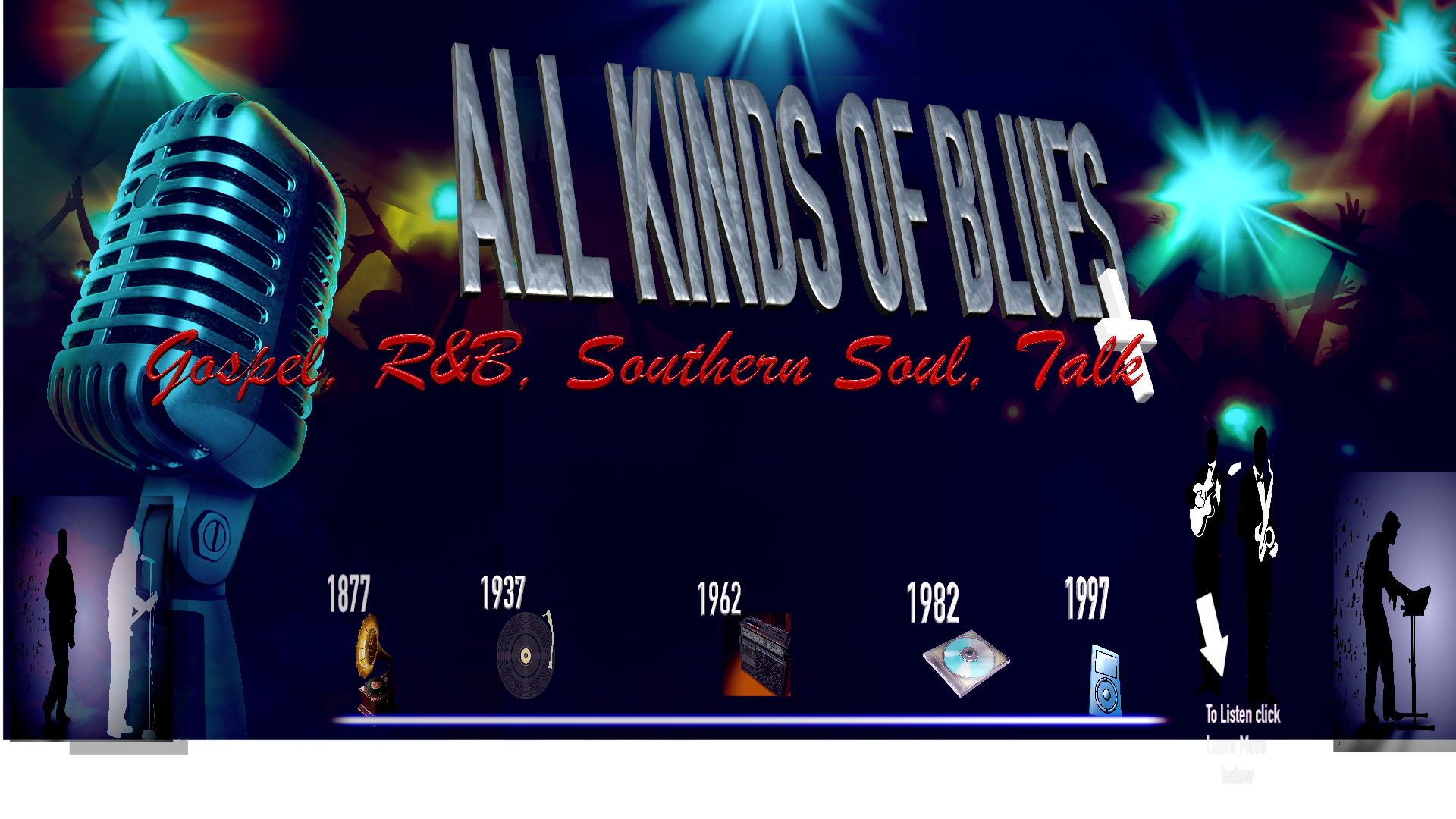 ALL KINDS OF BLUES  logo