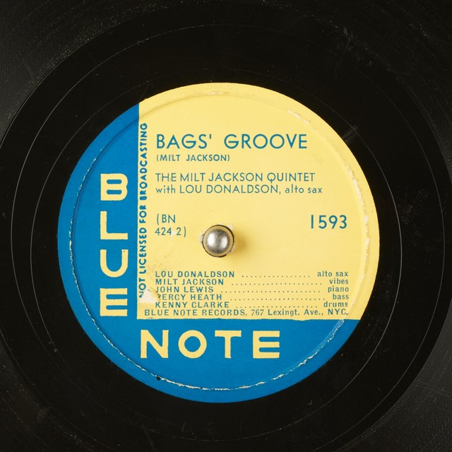 Art for Bags' Groove by The Milt Jackson Quintet