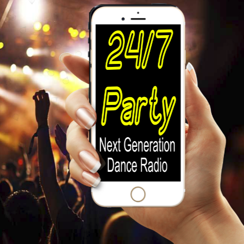 Art for 24/7 Party on Live365 - Get the APP by We've got to Party Hard!