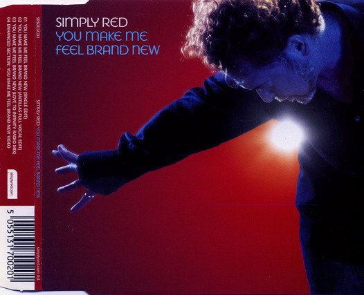Art for You Make Me Feel Brand New by Simply Red