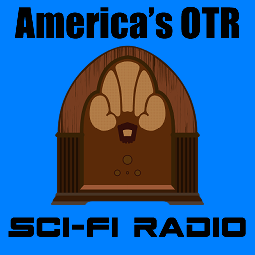America's OTR - Old Time Sci-Fi logo