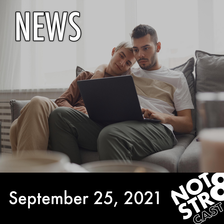 Art for NOTSTR8cast NEWS - 9/25/21 - P2 by NOTSTR8cast NEWS