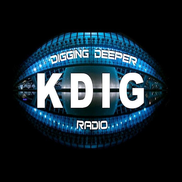 Art for Digging Deeper Radio by Hale Multimedia by Brian Hale