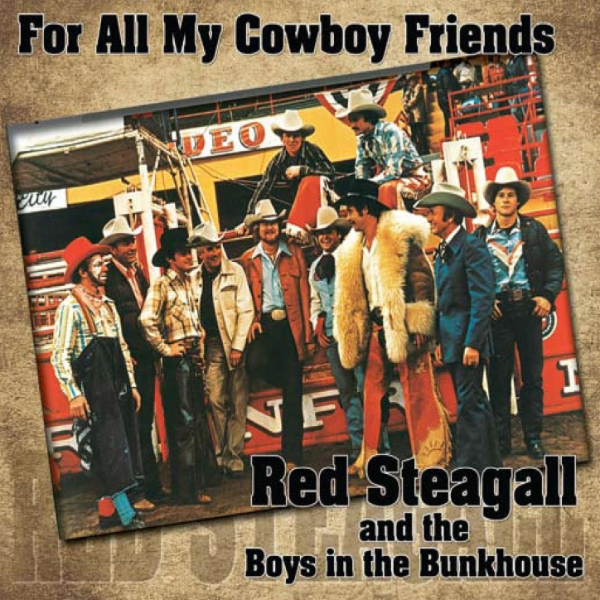 Art for Rodeo by Red Steagall, The Boys in the Bunkhouse
